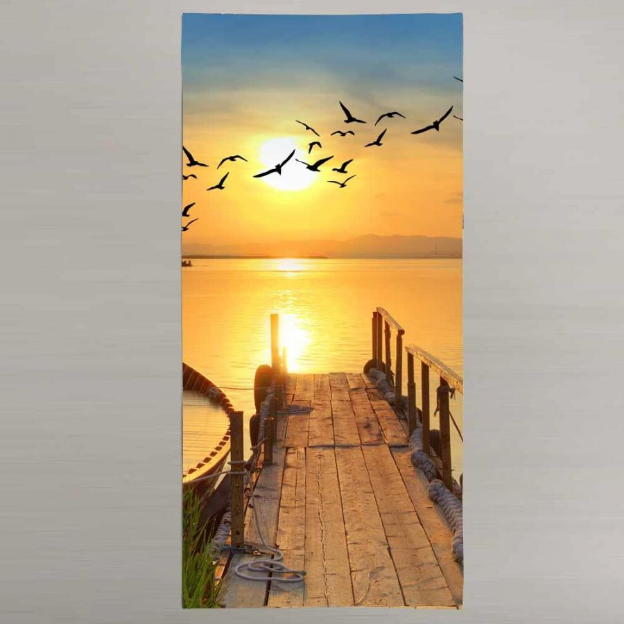 3 D  Prınted Beach towel