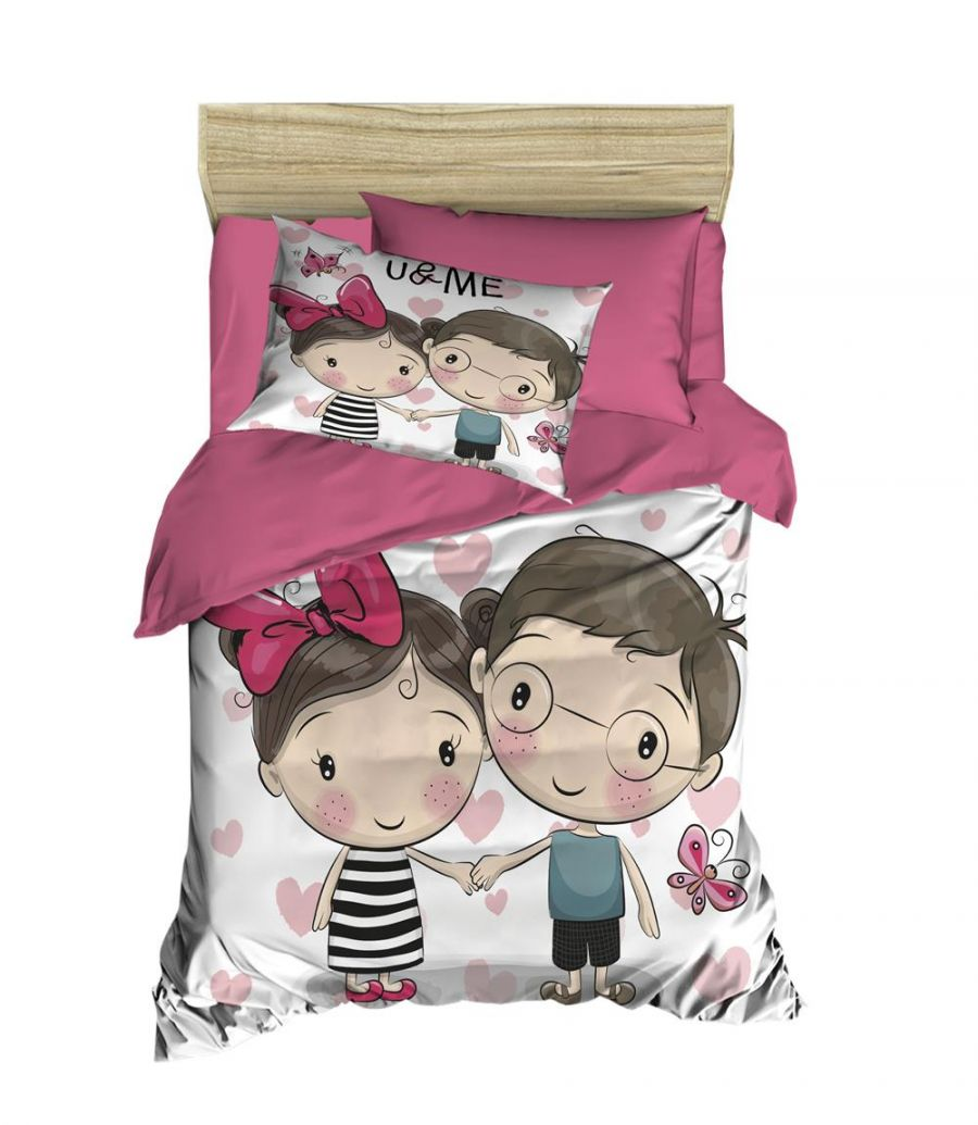 3D Prınted  Single duvet cover set